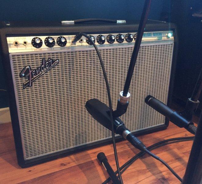 New Fender Deluxe Reverb: Testing Mics